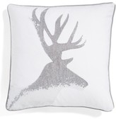 Levtex Sequin Reindeer Pillow
