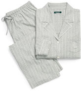 Ralph Lauren Woman Striped Jersey Pajama Set