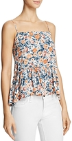 Current/Elliott The Strappy Floral-Print Tank
