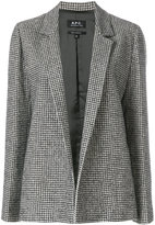 A.P.C. houndstooth jacket