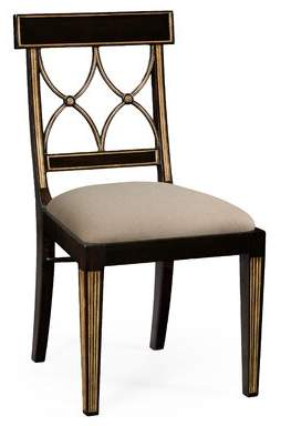 Jonathan Charles Fine Furniture Curved Dining Chair Jonathan Charles Fine Furniture