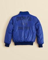 Diesel Boys' Reversible Puffer Jacket - Sizes XXS-XS