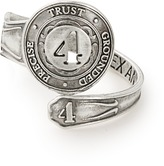Alex and Ani Number 4 Spoon Ring