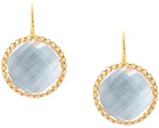 Larkspur & Hawk Chambray Olivia Button earrings