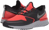 Nike Odyssey React 2 Shield (Habanero Red/Metallic Silver/Black) Men's Running Shoes