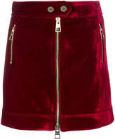 Tommy Hilfiger bonded biker mini skirt