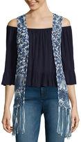 Love By Design Love by Design Crochet Vest