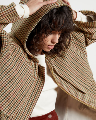 Ted Baker ERTIE Hooded Plain Coat