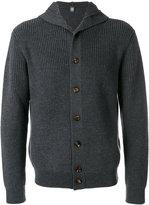 Eleventy buttoned hooded cardigan - men - Virgin Wool - L