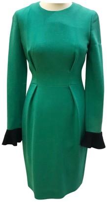 Roksanda Ilincic Green Wool Dress for Women