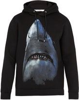 Givenchy Shark-print hooded sweatshirt