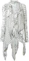 Uma | Raquel Davidowicz - printed tunic - women - Spandex/Elastane/Viscose - PP