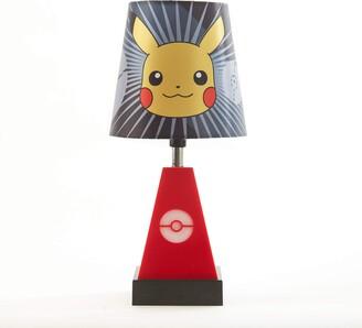 "Idea Nuova Pokemon 2 in 1 Table Lamp with Nightlight 11.8"" H x 5.5"" W"