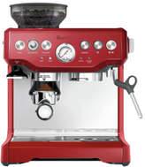 Breville NEW BES870CRN Barista Express Espresso Machine: Cranberry Red/Stainless Steel