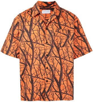 John Elliott Branch Print Shortsleeved Shirt