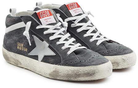 Golden Goose Mid Star Suede Sneakers