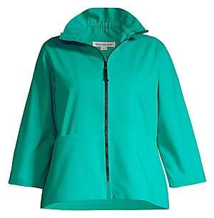 Caroline Rose Caroline Rose, Plus Size Women's Spring Prints Charming Summer Jacket