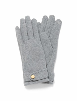 Forever New Harlow Button Gloves - Grey - 00