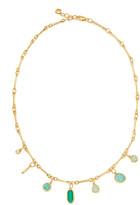 Monica Vinader Siren Tonal Multi Drop Necklace