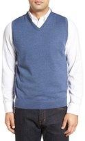 John W. Nordstrom V-Neck Merino Wool Sweater Vest
