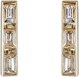 Ileana Makri Women's Thread Bar Stud Earrings-GOLD