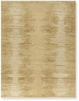 Williams-Sonoma Williams Sonoma Solid Ombre Hand Knotted Rug, Beige