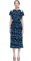 Rebecca Taylor Open Shoulder Kyoto Floral Dress
