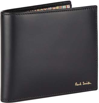 Paul Smith Leather Stripe Billfold Wallet
