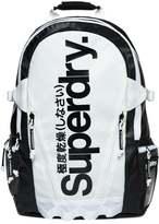 Superdry Mono Tarp Back Pack Rucksack White/black