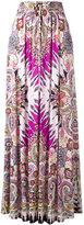 Etro paisley print maxi skirt - women - Viscose - 44