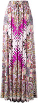 Etro paisley print maxi skirt