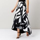 Coast Taila Mono Maxi Skirt