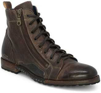 Bed Stu Men's Leather Motorcycle Boots - Old Bowen