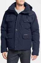 Canada Goose Men's 'Selkirk' Slim Fit Water Resistant Down Parka With Detachable Hood