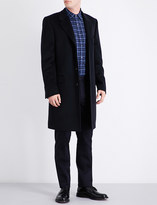 Gieves & Hawkes Notch-lapel single-breasted wool and cashmere-blend overcoat