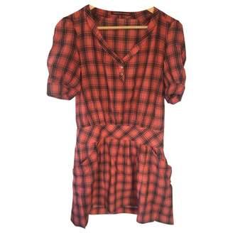 Comptoir des Cotonniers \N Orange Cotton Dress for Women