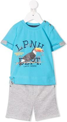 Lapin House Bird Printed Two-Piece Set