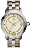 Tory Burch 'Tory' Large Round Bracelet Watch, 37mm