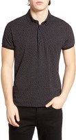 Scotch & Soda Men's Print Jersey Polo