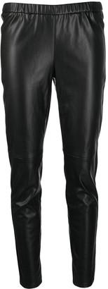 MICHAEL Michael Kors Artificial Leather Leggings