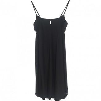 Dice Kayek Black Silk Dress for Women