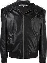 McQ by Alexander McQueen zipped hood jacket