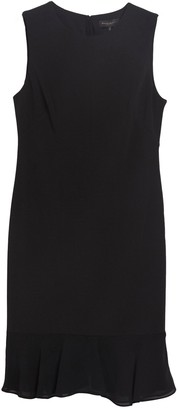 DKNY Flounce Back Shift Dress
