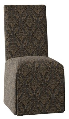 Winston Porter Walraven Upholstered Parsons Chair Body Fabric: Susan Willow