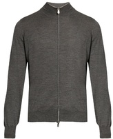 Brunello Cucinelli Zip-up Wool And Cashmere Sweater