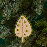 Bloomingdale's Green Leaf Ornament - 100% Exclusive