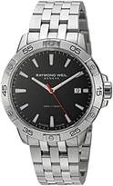 Raymond Weil Men's 'Tango' Swiss Quartz Stainless Steel Casual Watch, Color:Silver-Toned (Model: 8160-ST2-20001)