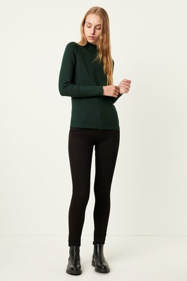 French Connenction Babysoft Roll Neck Sweater