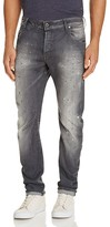 G Star Arc 3D Distressed Slim Fit Jeans in Medium Aged