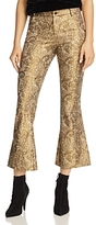 Alice + Olivia Drew Cropped Flared Pants